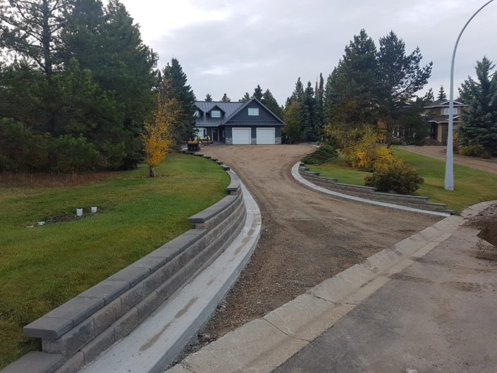 St Albert Paving Job 1