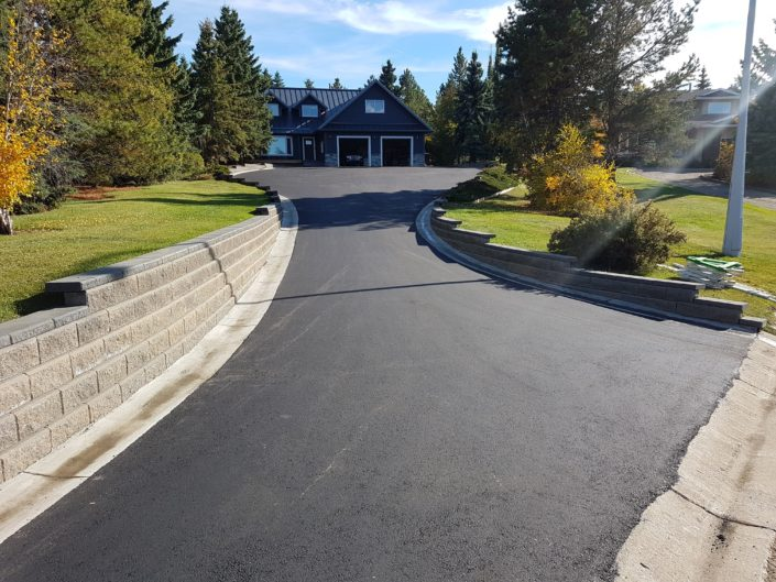 St Albert Paving Job 2
